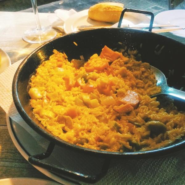Wegańska paella, El Herreño