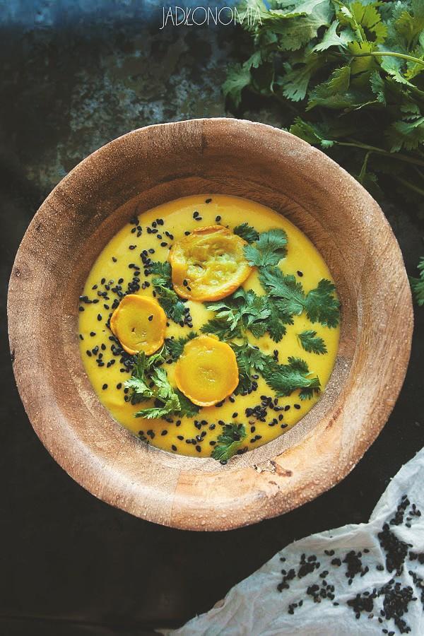 Cytrynowa Zupa Z Cukinii Jadlonomia Weganskie Przepisy Nie Tylko