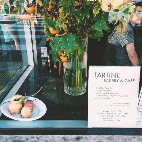 Widok w kolejce po chleb z Tartine