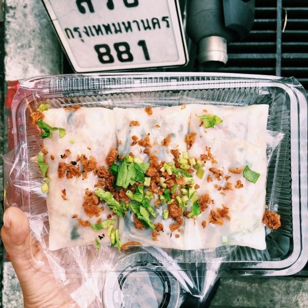 W każdym zawiniątku inny farsz: chińskie kiszone warzywa, łodygi grejpfruta lub mielone tofu