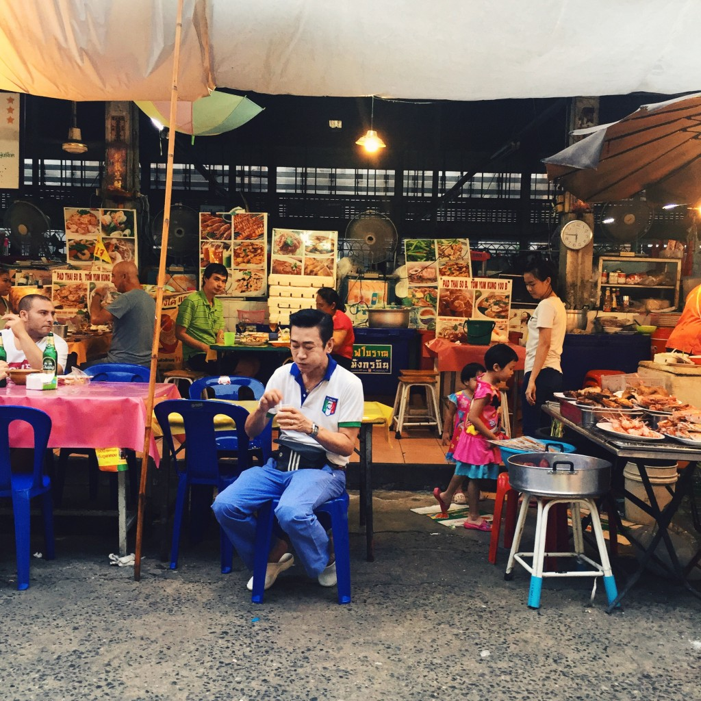 W Bangkoku wszystkim zawsze dopisuje apetyt