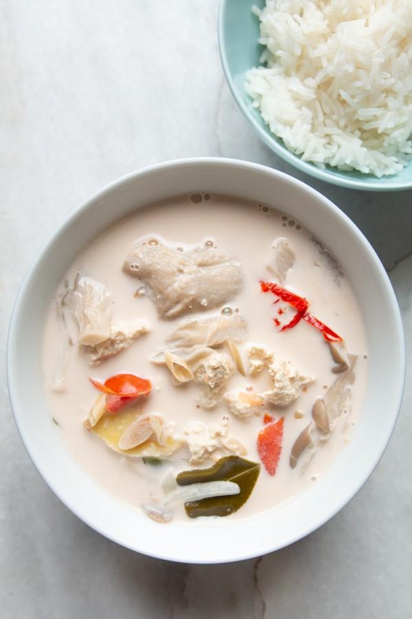 Gotowa zupa z ryżem! Łatwe, prawda?